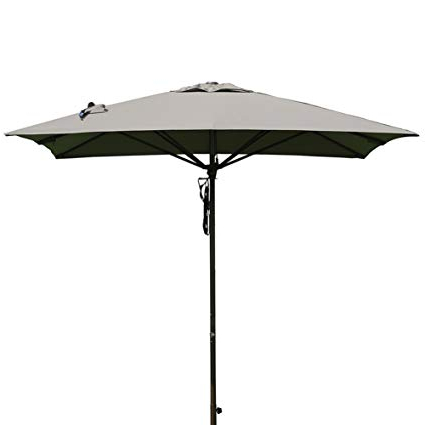 8 Ft Patio Umbrella – Otentikworld – In Well Liked Justis Cantilever Umbrellas (Gallery 19 of 25)