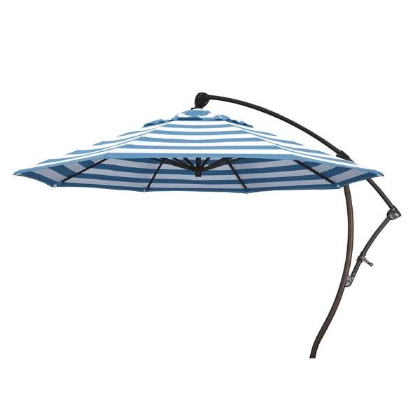 9' Cantilever Sunbrella Umbrella Regarding Most Popular Ceylon Cantilever Sunbrella Umbrellas (View 3 of 25)