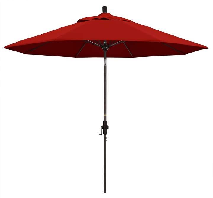 9-Ft. Sun Master Red Sunbrella Patio Umbrella with regard to Best and Newest Mullaney Market Sunbrella Umbrellas