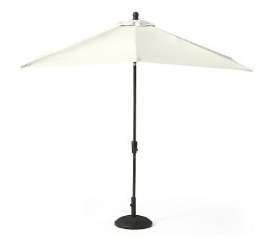 9' Round Market Umbrella Canopy Replacement - Outdoor Canvas, Ink with Latest Crowborough Square Market Umbrellas