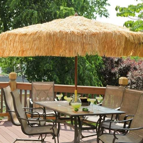9' Tropical Patio Umbrella