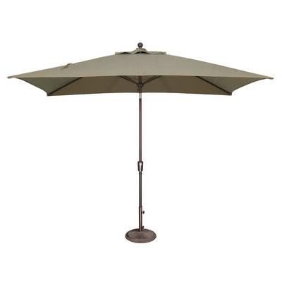 Alexander Elastic Rectangular Market Sunbrella Umbrellas Intended For Well Liked Mullaney 11' Market Sunbrella Umbrella & Reviews (View 18 of 25)