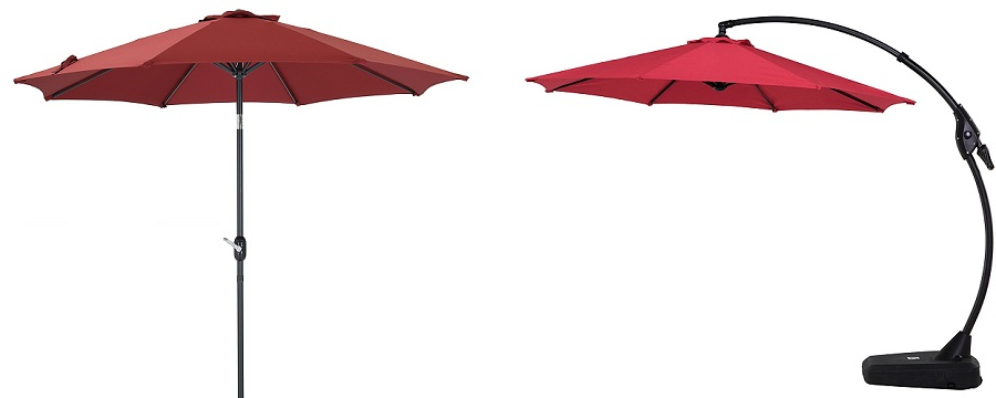 Alexander Elastic Rectangular Market Sunbrella Umbrellas With Current Stylish Restaurant Furniture (View 22 of 25)