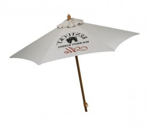 Aluminum 6 Ft 6 Panel Custom Market Umbrella W/ 5 Colors Pertaining To Preferred Market Umbrellas (View 4 of 25)