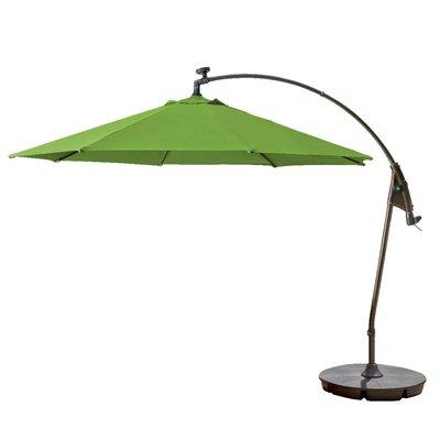 Alyssa Freeport Park Market Umbrellas With Regard To Newest Freeport Park Pottsville Solar Cantilever Sunbrella Umbrella (View 10 of 25)