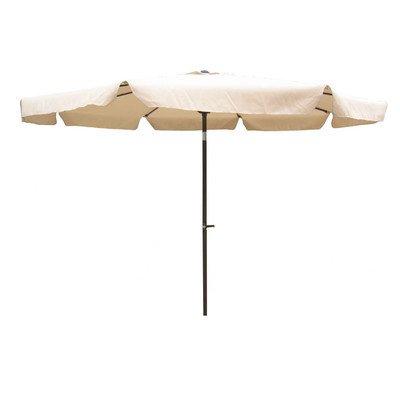 Amazon : 10' Drape Umbrella Fabric: Beige : Patio Umbrellas Regarding Fashionable Drape Umbrellas (View 4 of 25)