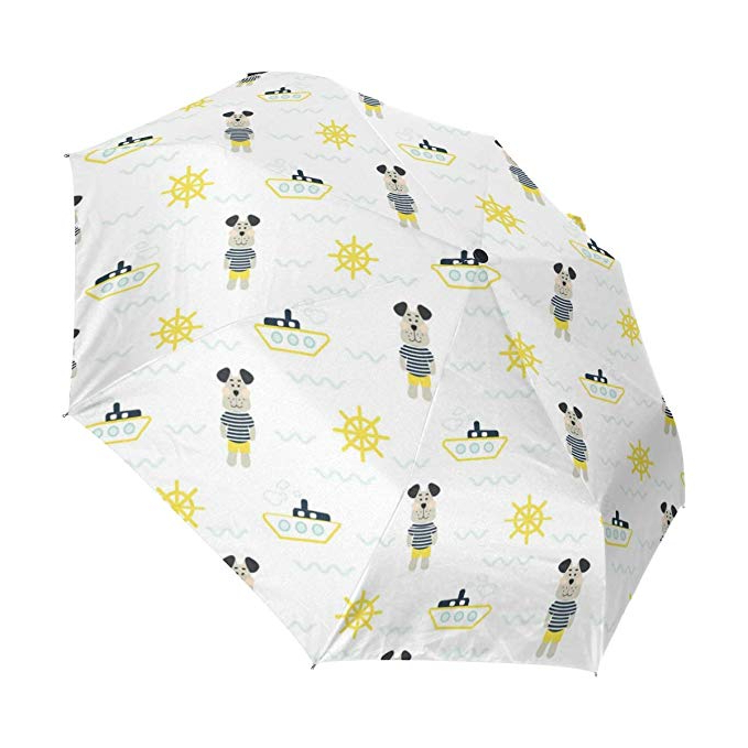 Amazon: Pajamas Boy With Tilda Sailor Dog Yellow Compact For Most Recent Tilda Cantilever Umbrellas (View 19 of 25)