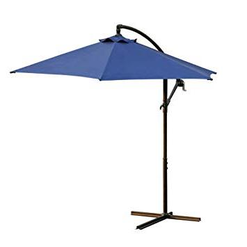 Amazon: Rectangular Patio Outdoor Living Solid Color Umbrellas Pertaining To Favorite Solid Market Umbrellas (View 6 of 25)