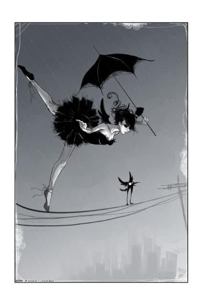 Anime Circus, Circus Art, Art Intended For Latest Branam Lighted Umbrellas (View 16 of 25)