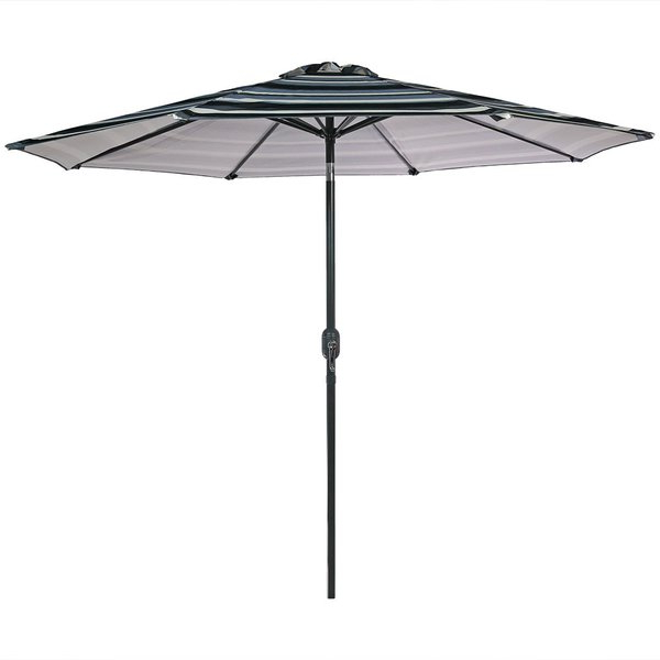 Annika 9' Market Umbrella In Newest Kenn Market Umbrellas (View 17 of 25)