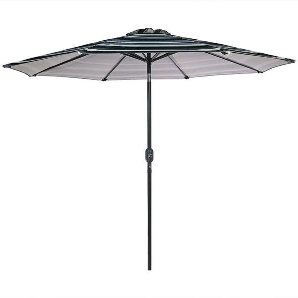 Annika 9' Market Umbrella In Newest Kenn Market Umbrellas (View 7 of 25)