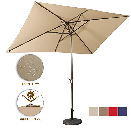 Aok Garden Outdoor Market Umbrella,10X (View 3 of 25)