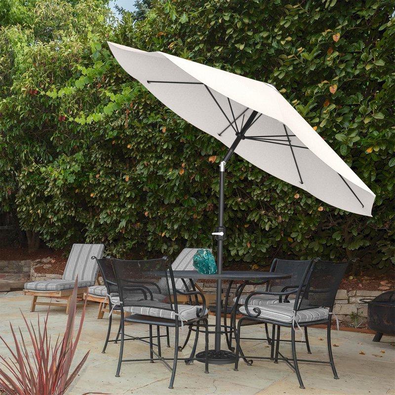 Artrip Market Umbrellas Intended For Fashionable Kelton 10' Market Umbrella (View 22 of 25)