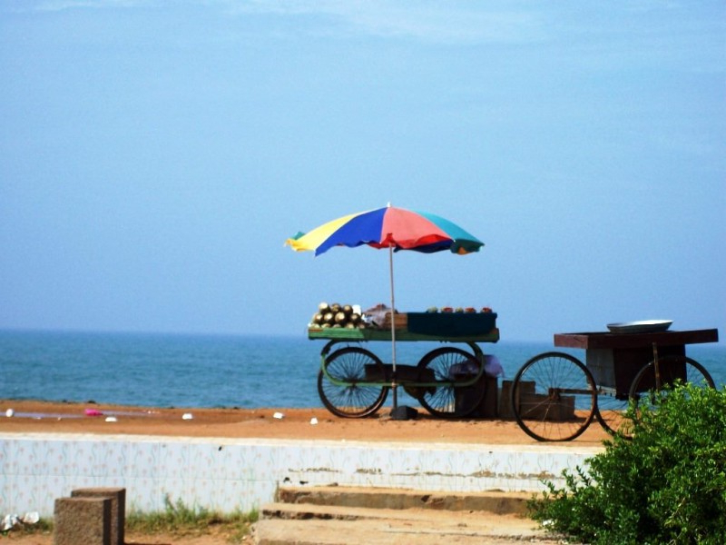 Auriville Beach Umbrellas With Regard To Most Current Pondicherry: Auroville, Bamboo Cottages, Rock Beach & Old Harbour (View 10 of 25)