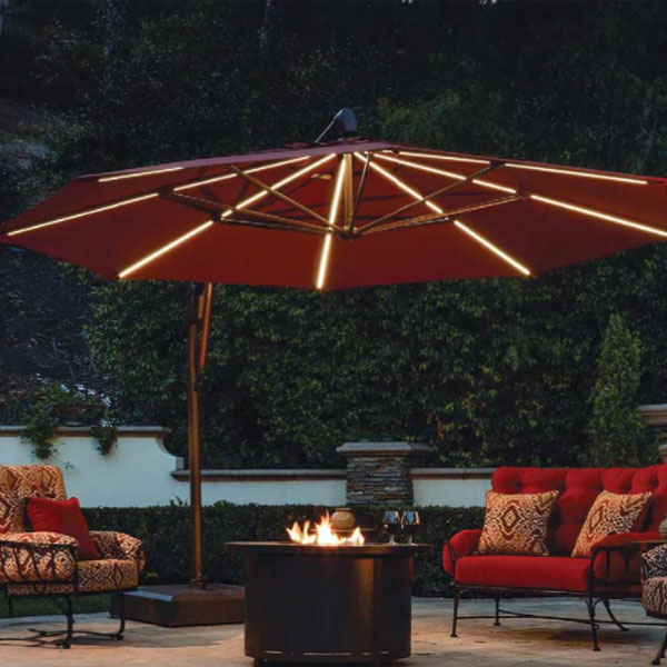 Bayside Series Cantilever Umbrellas With Well Known Seasonal Concepts (View 25 of 25)
