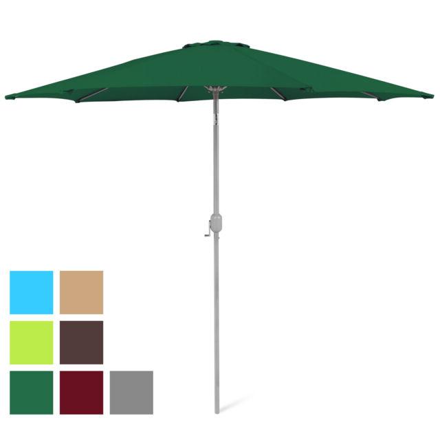 Bcp 9Ft Outdoor Market Patio Umbrella W/ Crank Tilt Adjustment, Wind Vent With Regard To Favorite Wiebe Market Sunbrella Umbrellas (View 4 of 25)