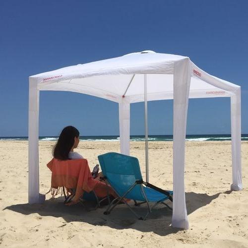 Beach Canopy With Regard To Trendy Sun Shelter Beach Umbrellas (View 7 of 25)