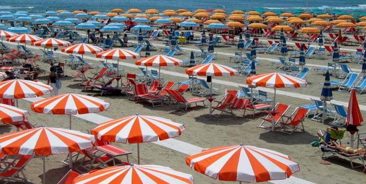 Beach Umbrella, A Photo From Lucca, Tuscany (View 4 of 25)