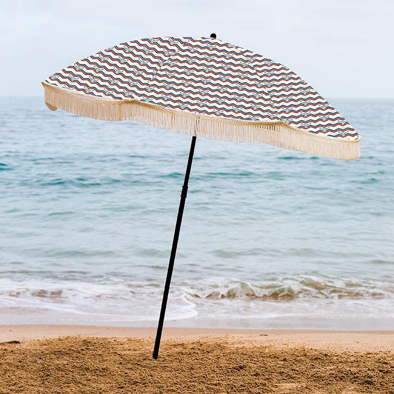 Beach Umbrellas: Outdoor Beach Umbrella Deals At Patio Shoppers For Throughout Preferred Smithmill Beach Umbrellas (View 4 of 25)