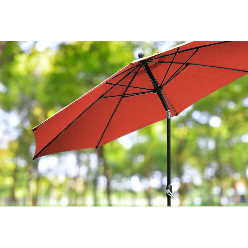 Beachcrest Home Mucci Madilyn 10' Market Sunbrella Umbrella With Regard To Most Current Mucci Madilyn Market Sunbrella Umbrellas (View 9 of 25)