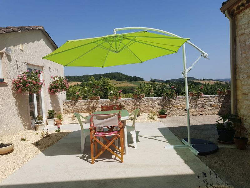 Beaux Villages Immobilier South West France – Charming Village House Inside Most Recently Released Brame Market Umbrellas (View 12 of 25)