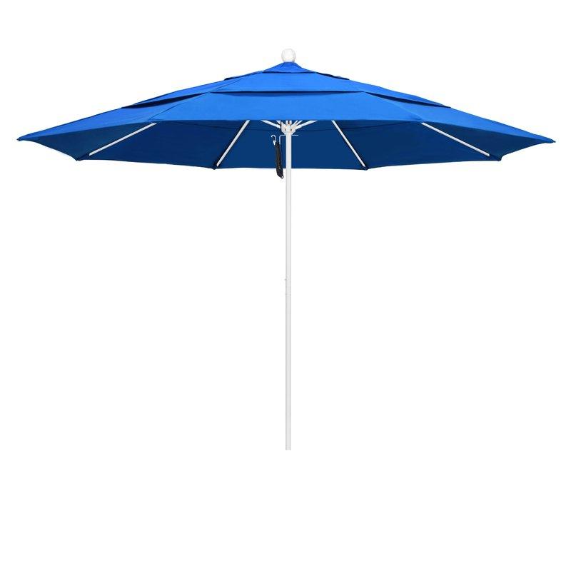 Benson 11' Market Umbrella Within Recent Crowland Market Sunbrella Umbrellas (View 3 of 25)