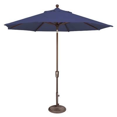 Benson 6' Square Market Sunbrella Umbrella & Reviews