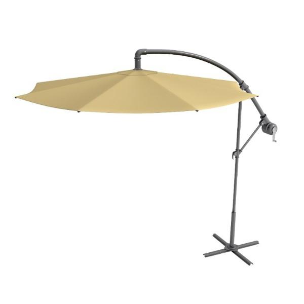 Best And Newest Anna Cantilever Umbrellas Regarding Round Offset Aluminum Cantilever Umbrella (View 8 of 25)