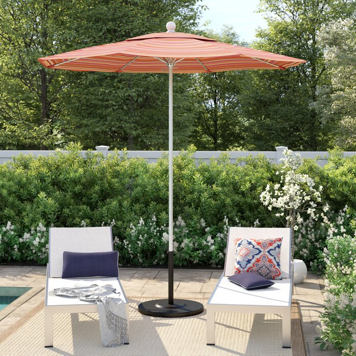 Best And Newest Caravelle Square Market Sunbrella Umbrellas Intended For Caravelle  (View 6 of 25)
