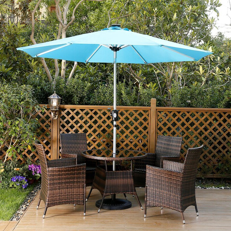 Best And Newest Hawkinge 9' Market Umbrella Regarding Hawkinge Market Umbrellas (View 3 of 25)