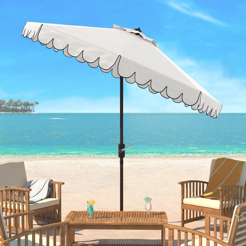Best and Newest Pedrick 8.5 Drape Market Umbrella with Devansh Market Umbrellas