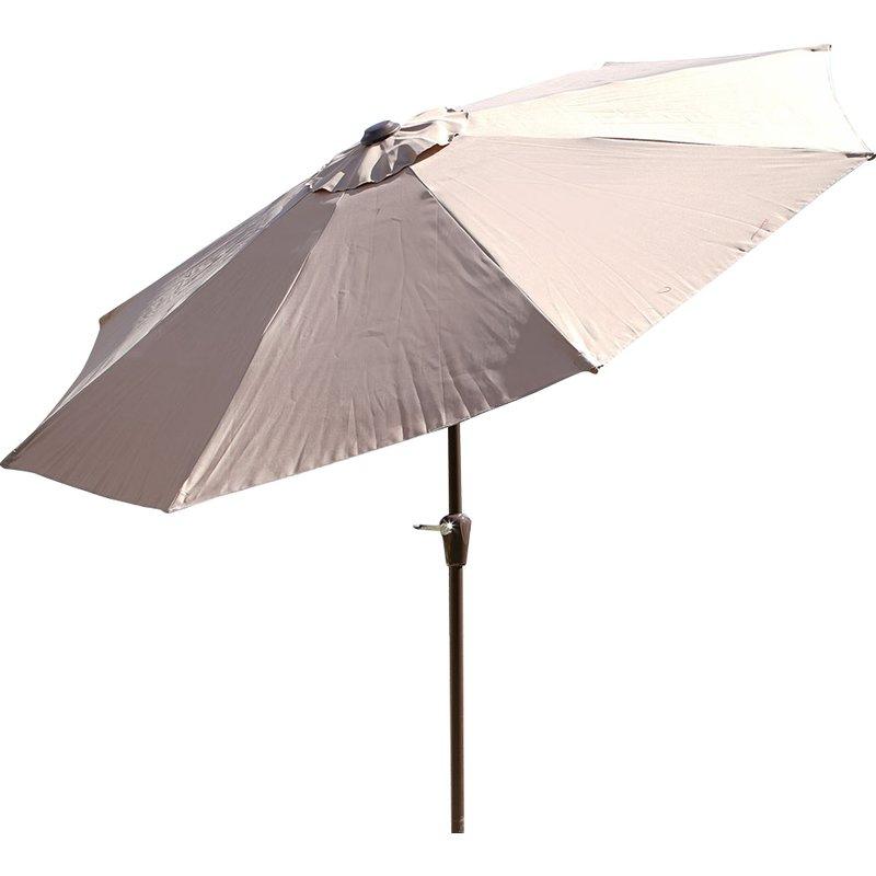 Best And Newest Taube 9' Market Umbrella Inside Taube Market Umbrellas (View 2 of 25)