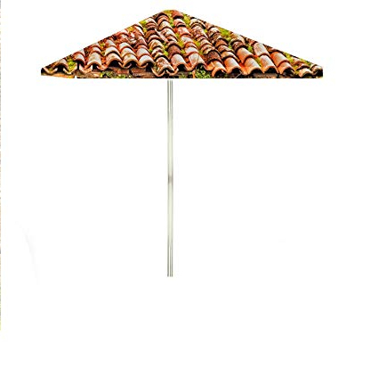 Best Of Times 1020W2404 Italian Villa 8 Ft Tall Square Market Umbrella, One  Size Red For Current Italian Market Umbrellas (View 8 of 25)