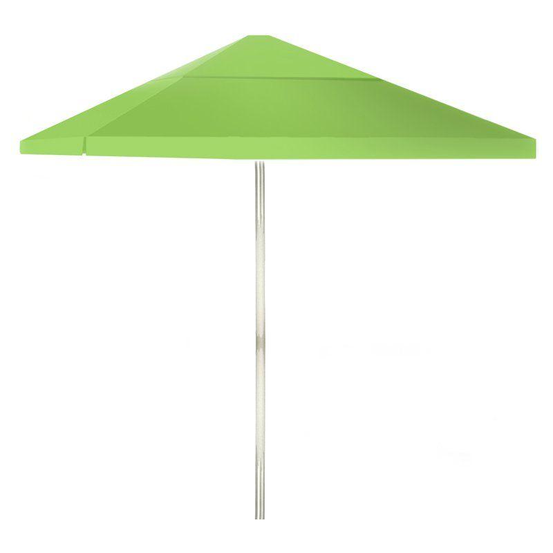 Best Of Times 8 Ft. Aluminum Patio Umbrella Lime Green - 1020W1331 with regard to Favorite Wacker Market Umbrellas
