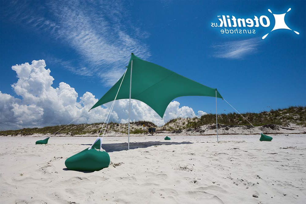Best Rated In Camping Sun Shelters & Helpful Customer Reviews For Well Known Alyson Joeshade Beach Umbrellas (View 9 of 25)