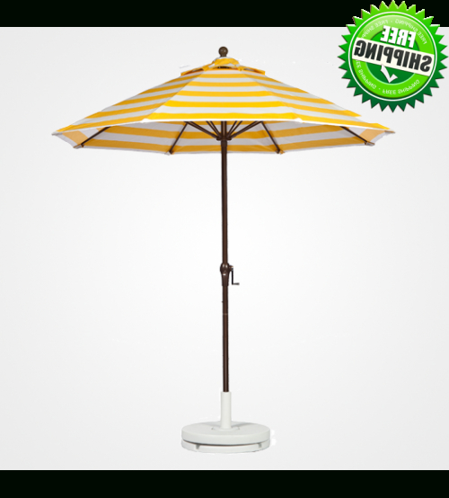 Best Selection Commercial Patio Umbrellas – Galtech  (View 14 of 25)