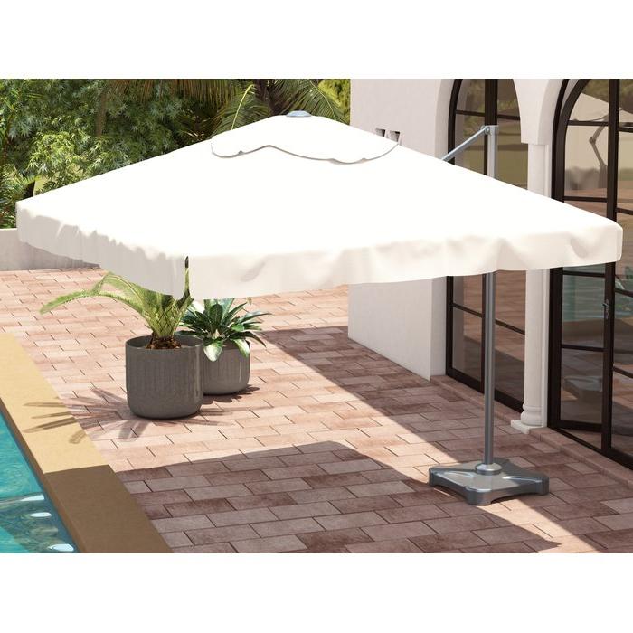 Bondi Square Cantilever Umbrellas with regard to Trendy Bondi 9.8' Square Cantilever Umbrella