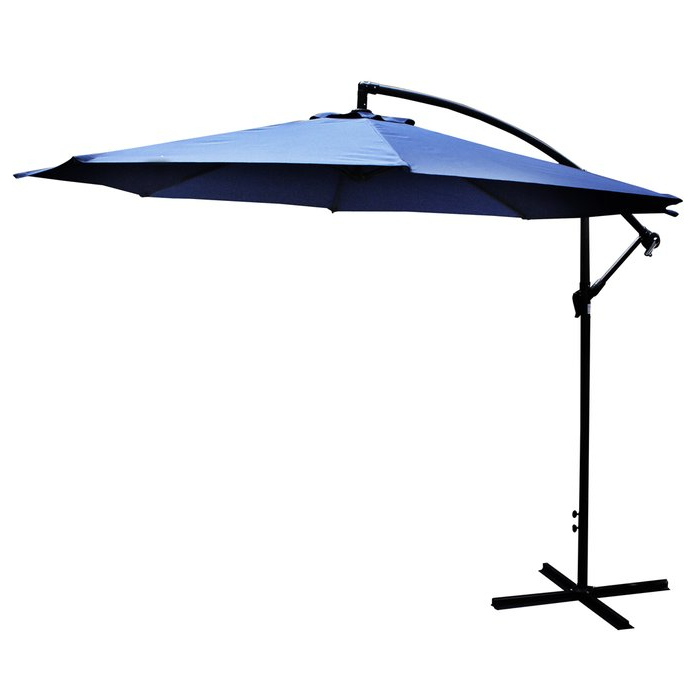 Booneville Cantilever Umbrellas with regard to 2018 10' Cantilever Umbrella