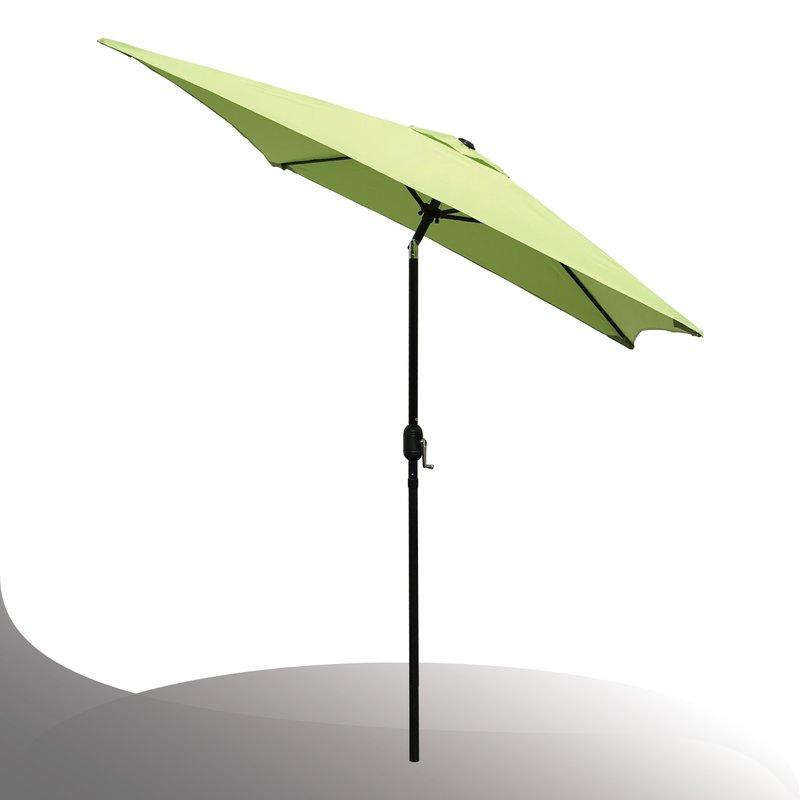 Bradford Patio Market Umbrellas Pertaining To 2017 Bradford Patio  (View 7 of 25)