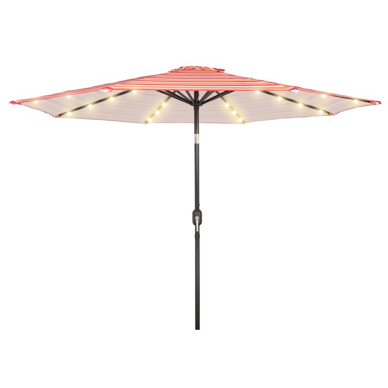 Branam Lighted Umbrellas throughout Most Current 9' Lighted Umbrella