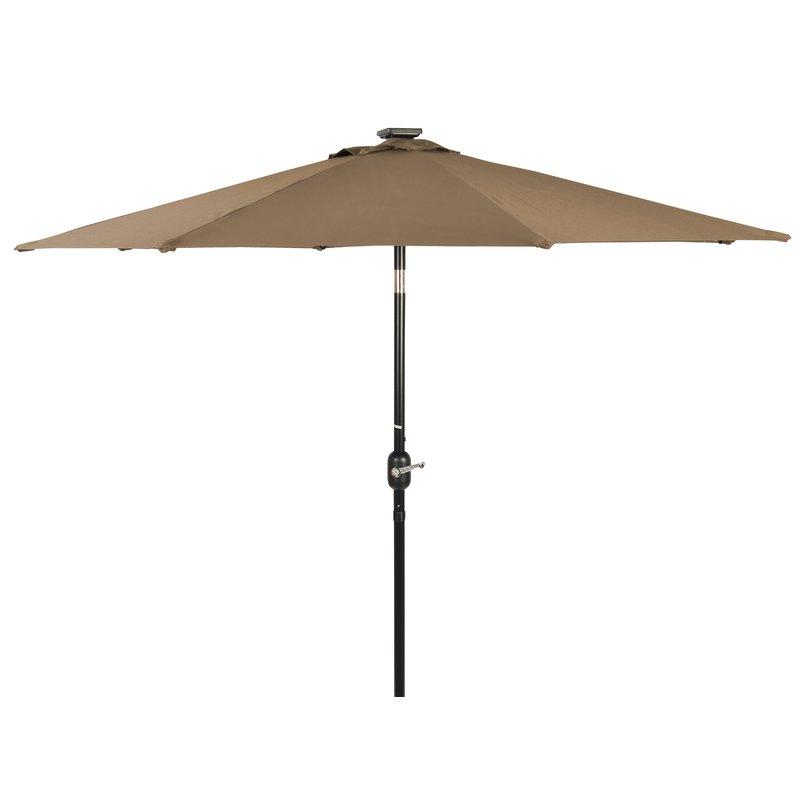 Branam Lighted Umbrellas Within 2017 Branam 7' Lighted Umbrella (View 2 of 25)