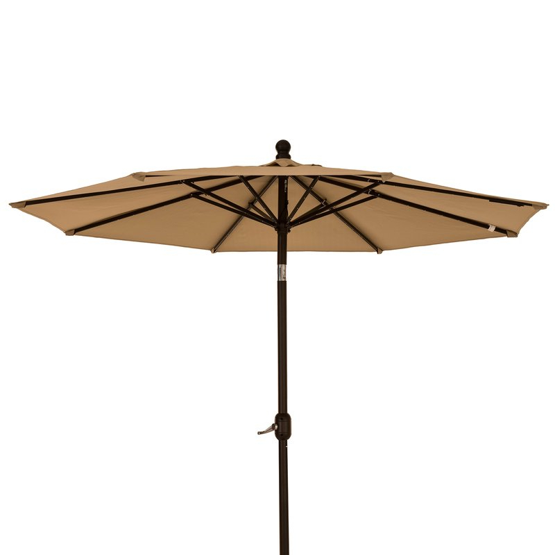 Branscum Lighted Umbrellas Regarding Newest Bardfield 9' Lighted Umbrella (View 6 of 25)