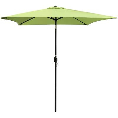 Brayton 8' Square Lighted Umbrella & Reviews (View 13 of 25)