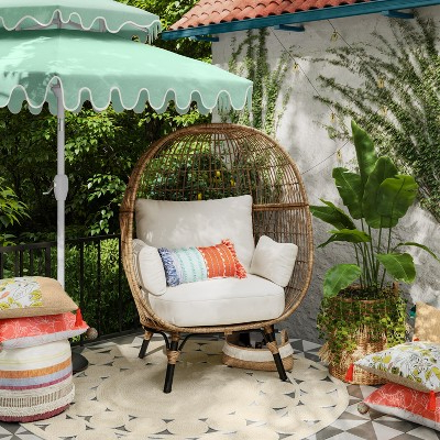 Brubaker Market Umbrellas Inside Well Known Southport Patio Egg Chair – Linen – Opalhouse (View 5 of 25)
