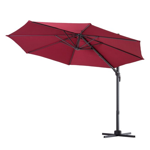 Caire 10' Cantilever Umbrella Within Most Recently Released Yajaira Cantilever Umbrellas (View 3 of 25)