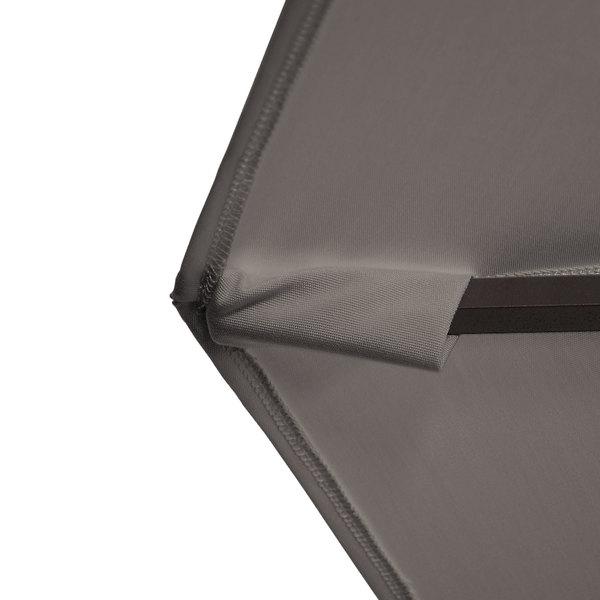 "California Umbrella Ba908 Pacifica Bayside 9' Crank Lift Cantilever Umbrella With 2"" Aluminum Pole – Pacifica Canopy Inside Most Current Bayside Series Cantilever Umbrellas (View 24 of 25)"