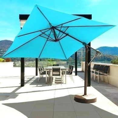 Cantilever Umbrella Sunbrella – Tildakulas (View 9 of 25)