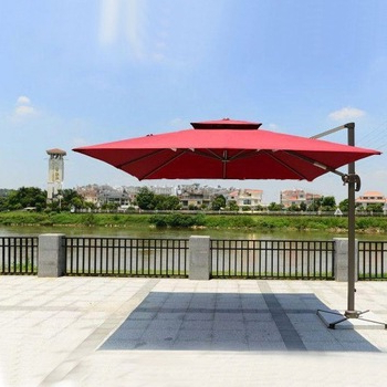 Cantilever Umbrellas Intended For Trendy Strong Pole Foldable Factory Beach Umbrella Alu Patio Cantilever Umbrellas  Outdoor – Buy Factory Beach Umbrella,cantilever Umbrellas,patio Cantilever (View 13 of 25)