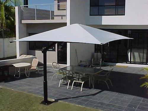 Cantilever Umbrellas Regarding Current Cantilever Umbrella: Ideal For A Budget Patio – Global Shade (View 23 of 25)