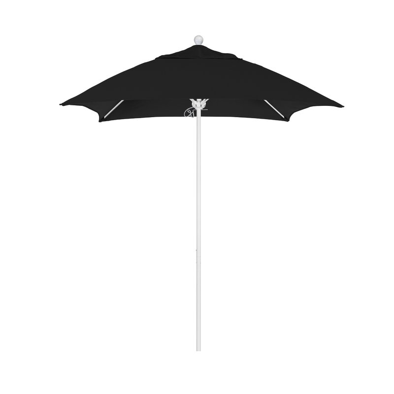 Caravelle Market Sunbrella Umbrellas Pertaining To Trendy Benson 6' Square Market Sunbrella Umbrella (View 8 of 25)